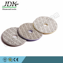 3 step wet diamond hand polishing pads for granite