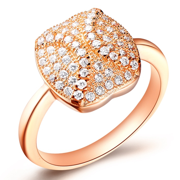 Newest Rings With CZ Diamond Big Fashion Wedding Designer Ring For Women 925 Sterling Silver Summer Style 2015 Ulove J156