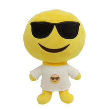 Hot Selling Custom emoji Kids Stuffed & plush Toys Soft Plush doll