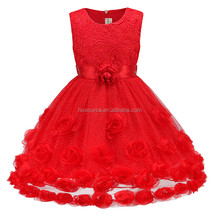 New model baby cotton frocks designs party kids children girls party dresses
