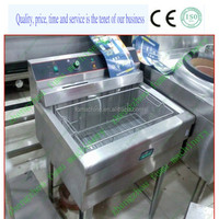 high quality stainless steel fryer conveyor