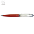 crystal indian wedding return gift,crystal pen with touch,2 in 1 stylus pen with crystal