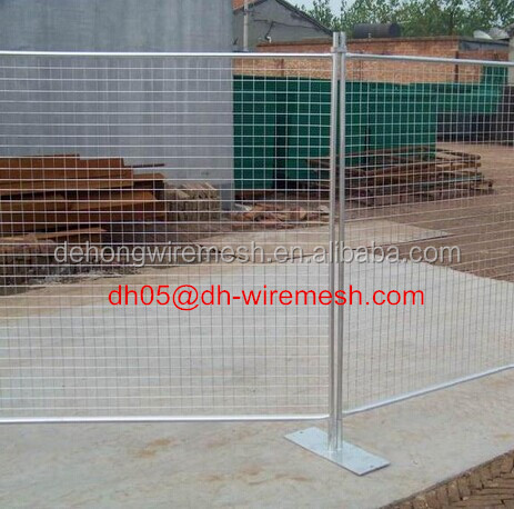 Australia /Canada temporary fencing,crowd control Barricade ,Chain link /construction temporary fence