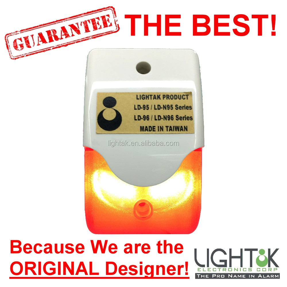 ORIGINAL Designer Mini Wired Outdoor Strobe Siren Alarm with RED LED Flashing light Durable Home Security alarm system 103 LD-96