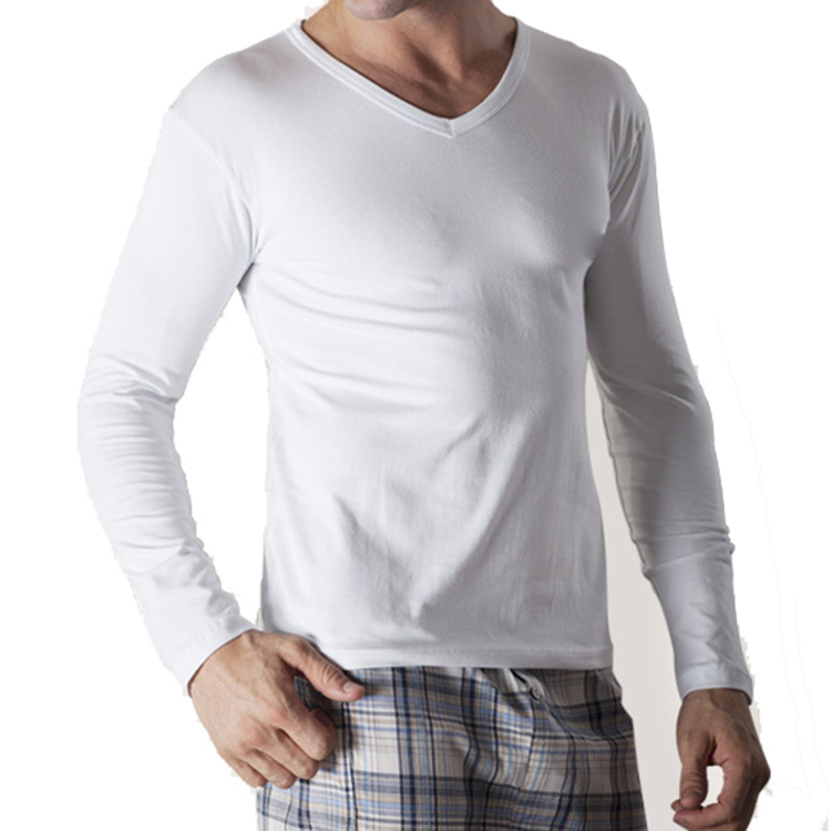 Nanchang Wholesale <strong>Mens</strong> V Neck Tee White T Shirt For <strong>Men</strong>