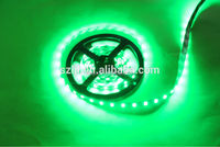 Double side PCB green 3 cores 60leds/M 5050 led strip 12v with high lumens