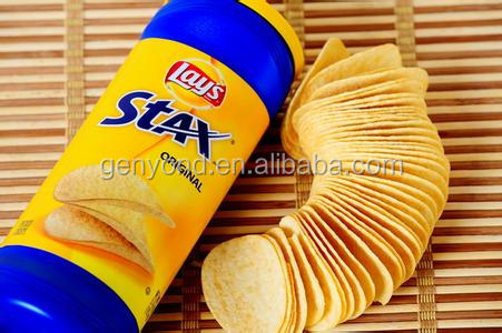 fully automatic potato chip machine/natural potato chips making machine/