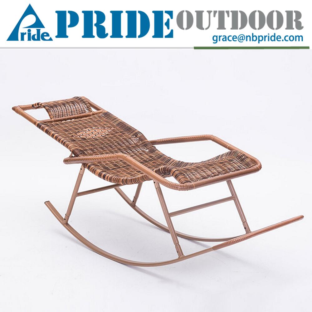 Rattan outdoor swing chair indoor hanging chair rocking chair ratta - Rattan Wicker Swing Chair Outdoor Rattan Chaise Sun Lounge