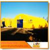 Best Yellow largest lawn used inflatable garage tent with good price