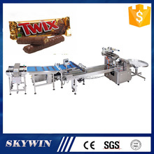 Dry Granola Cake Cookies Soap Snacks Energy Chocolate Bar Aluminum Foil Automatic Packing Frozen Food Packaging Machine Price