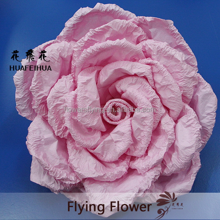 High tensile hot sell cheap paper desert rose flower