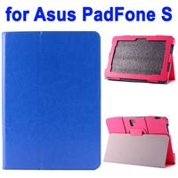 Crazy Horse Texture Flip Stand Leather Case for Asus PadFone S Case 9 inch