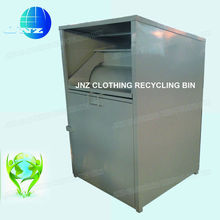 Galvanized steel Shoes Recycle bin