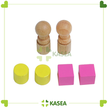High quality montessori wooden material Sensorial Replacement Kit
