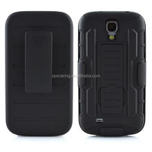 Kickstand shockproof case back cover for Samsung Galaxy S4 I9500