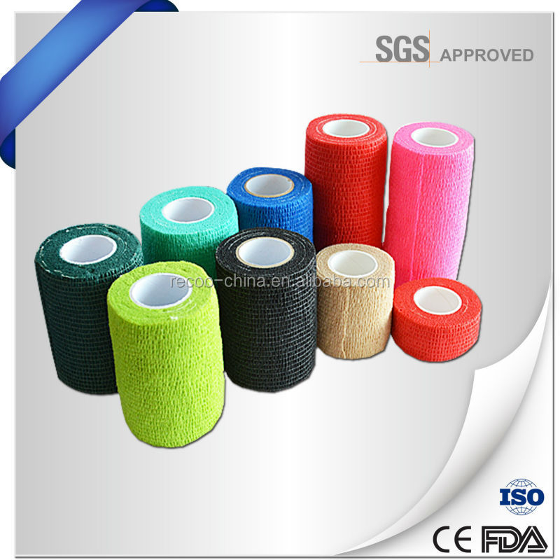 Surgical Supplier Sports Self-adhesive Bandage Breathable Ankle Support Finger Medical Care