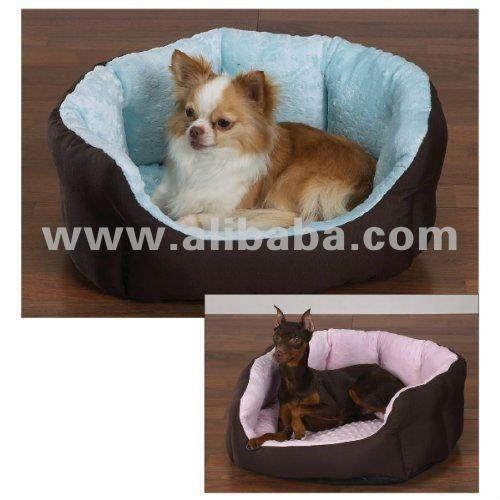 Designer Dog Beds. Luxury Pink/Blue & brown beds. Puppy/small-large