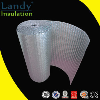 Foil faced fiberglass insulation waterproof floor for Fiberglass insulation sizes