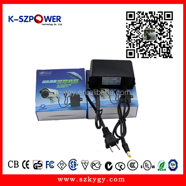 24W switching power supply High Quality single output AC 100-240V to DC hanging 12V 2A adaptor