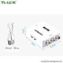 HDMI TO AV converter Adapter HDMI to RCA AV Converter Box