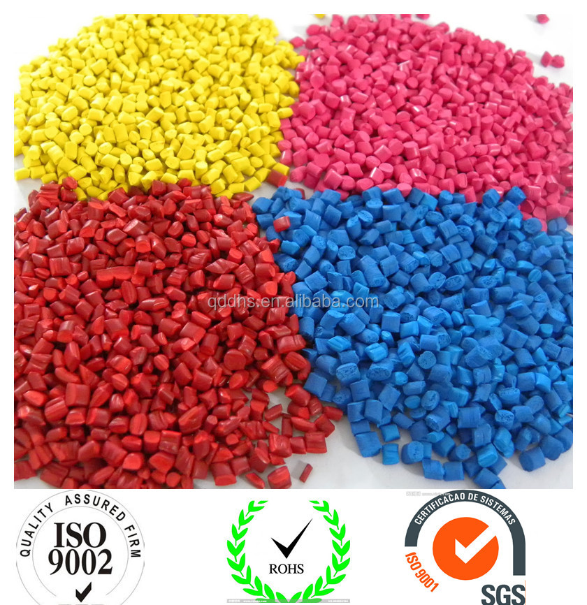 Plastic Polyethylene Black White Red Green Yellow Color Masterbatches for Stretch Film Manufacturer