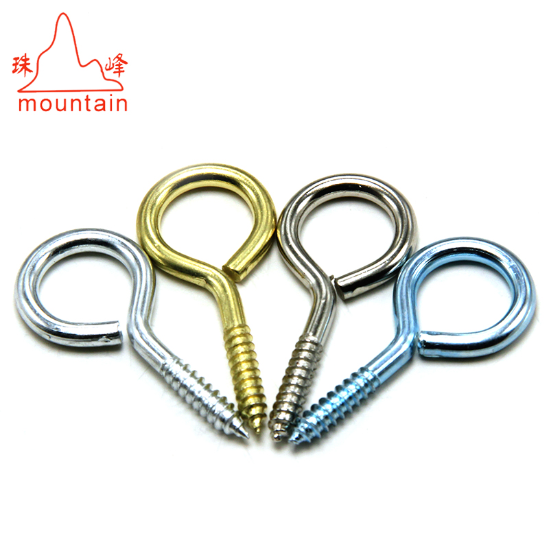 China hot selling steel eye <strong>screws</strong>, decorative <strong>screw</strong> eyes,