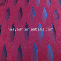 leaf pattern dubai design curtain embroidery fabric