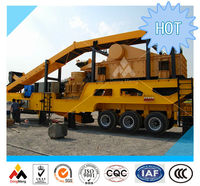 China Top 1 mobile rock crusher china manufacturer certified by CE ISO GOST