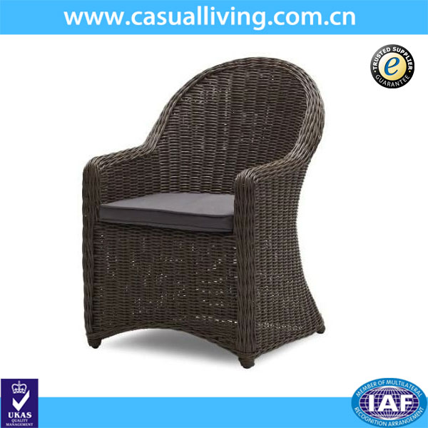 Garden/patio/outdoor rattan wicker chair Foshan factory direct wholesale garden wicker chair