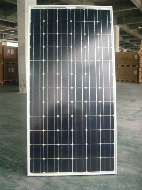 A grade cell high efficiency with competitive price price per watt monocrystalline silicon solar panel with 25 years pro