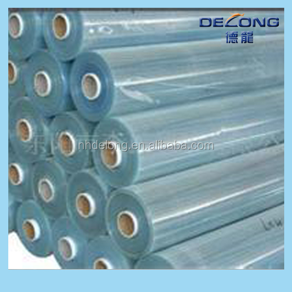 Transparent PVC cling film for food wrap