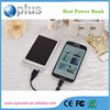 New design solar power bank 10000mah LED lamp high transfer rate portable polymer power bank