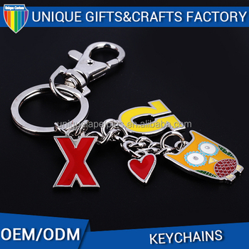 Best hot sale custom design new shape metal Keychain