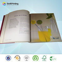 Factory hot selling paper booklet flier printing