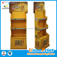Shanghai factory made disposable promotion advertising shop display rack