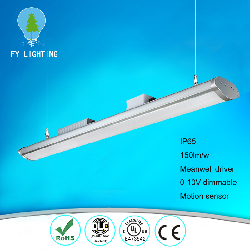 ce rohs ul cul listed Meanwell driver 1500mm industrial 200w led high bay light