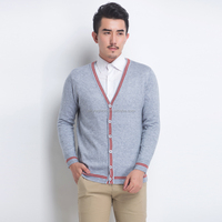 2015 latest fashion sweater designs for men wool cashmere cardigan sweater