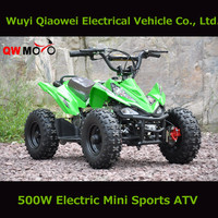 QWMOTO Kids Electric Mini Bike Mini Quad Bike Electric Mini ATV bike with CE