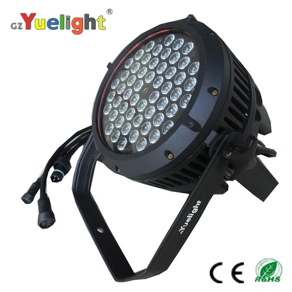 Yuelight high quality 54pcs waterproof outdoor par light