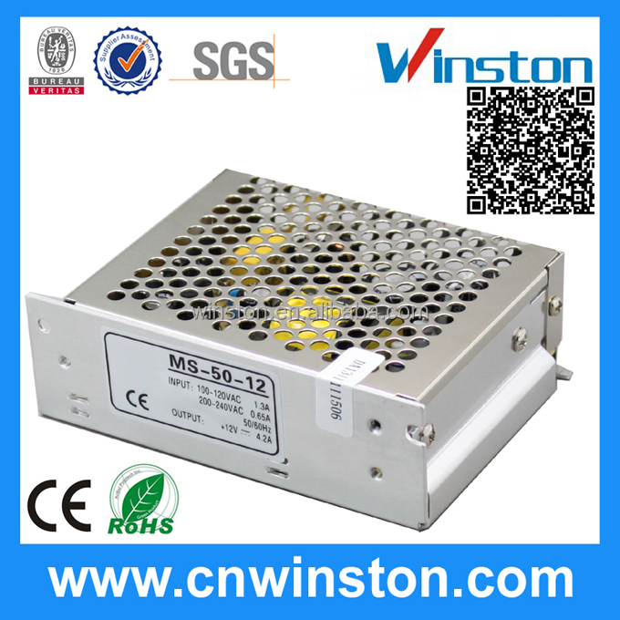 MS-50-12 NEW LED Driver Constant Voltage Switching Power Supply with CE