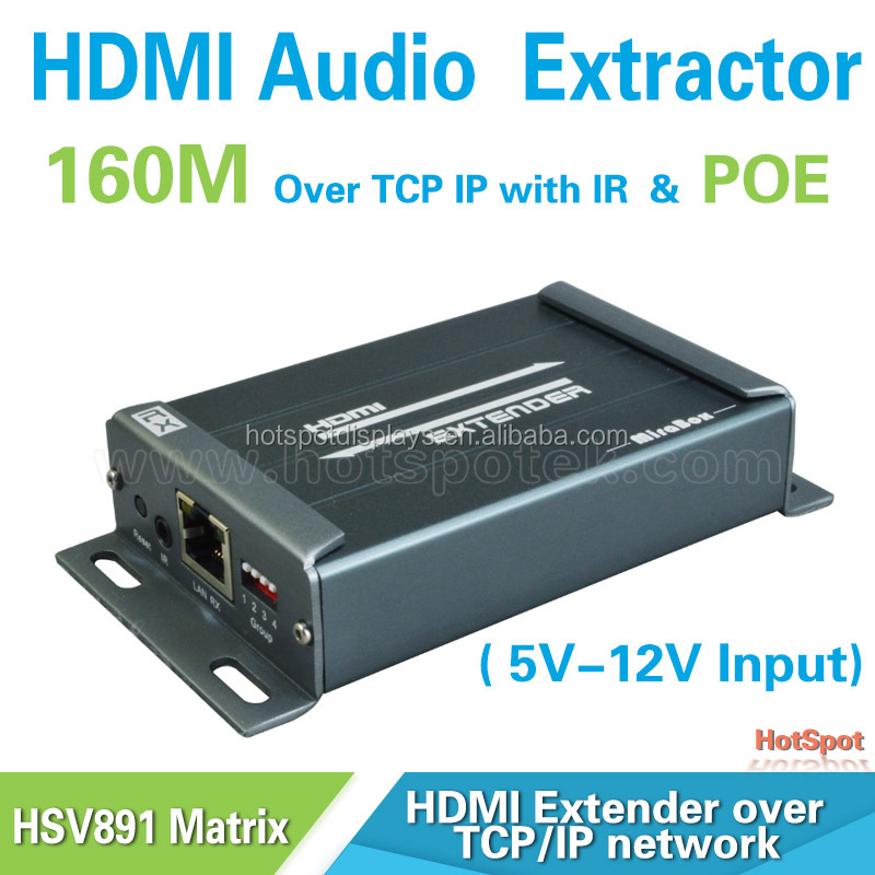 HDMI hd base-t matrix with 100m extender