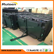 Light Weight Die Casting Cabinet IP65 Outdoor P5 Perimeter LED Display Outdoor P10 Perimeter LED Screen for Sports Advertising