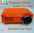 low price led projector built in TV tuner, CE Mark