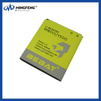 china factory HB5V1 3.7V 1800mah gb/t 18287-2013 mobile phone battery for Huawei Y300/ Y300C / Y511/ Y500/ T8833