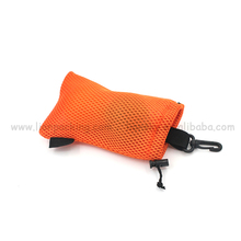 Customized recycling cell phone mesh pouches