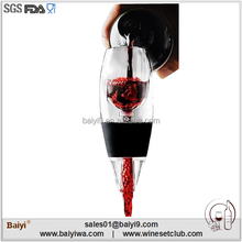 Best wine magic antique glass wine decanter with color box