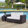 2017 Trade Assurance New Style outdoor aluminium frame rattan handmade outdoor garden sofa set designs