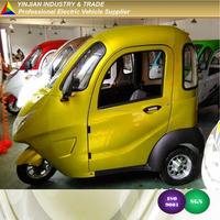 Popular City E Trike,Three Wheel Electric Mobility Scooter,Motor Tricycle for Traveling,Sightseeing,Food delivery