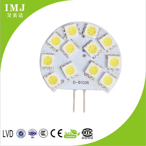 good quality JC G4 led bulb CE and ROHS approval led kitchen light