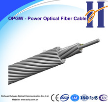 48 fiber OPGW Composite Overhead Groud Wire with Optical Fibers